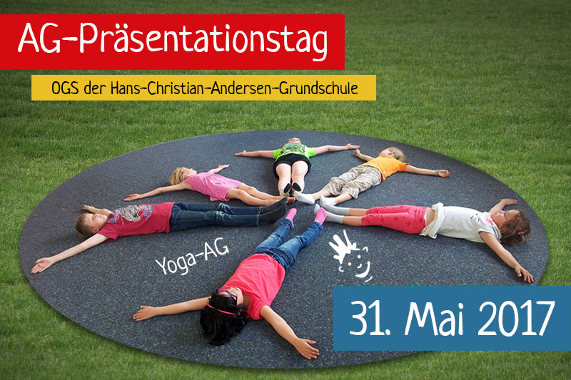 Kinder der Yoga-AG