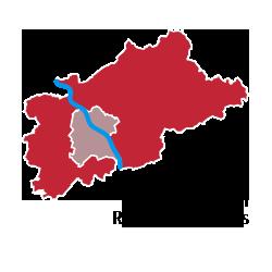 Karte Bonn Rhein-Sieg